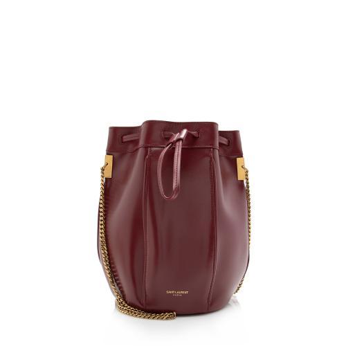 Saint Laurent Leather Small Talitha Bucket Bag