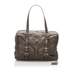 Saint Laurent Lover Leather Shoulder Bag