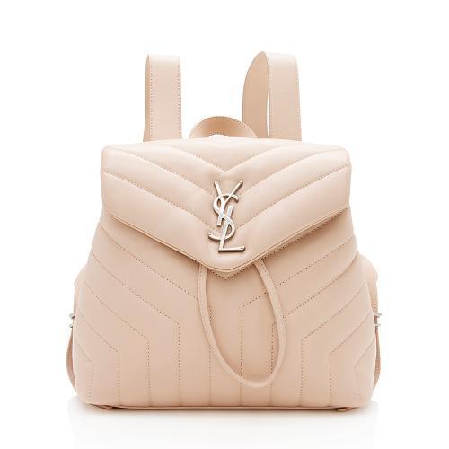 Saint Laurent Matelasse Calfskin LouLou Small Backpack