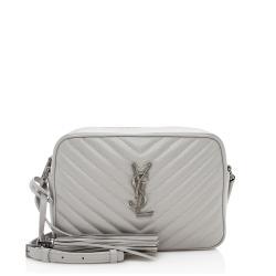 Saint Laurent Matelasse Leather Lou Camera Bag