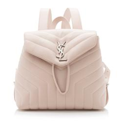 Saint Laurent Matelasse Calfskin LouLou Small Backpack