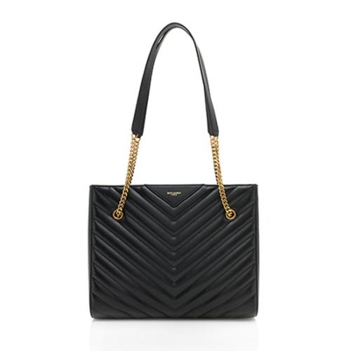 Saint Laurent Matelasse Medium Tribeca Tote