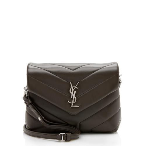 Saint Laurent Matelasse Toy LouLou Crossbody Bag