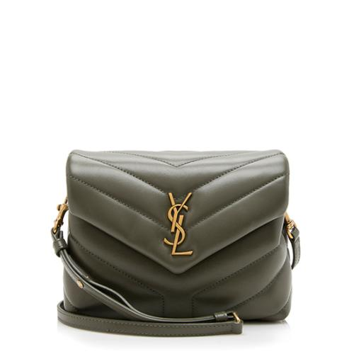 Saint Laurent Matelasse Toy LouLou Crossbody Bag