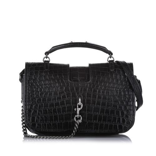 Saint Laurent Medium Charlotte Leather Satchel