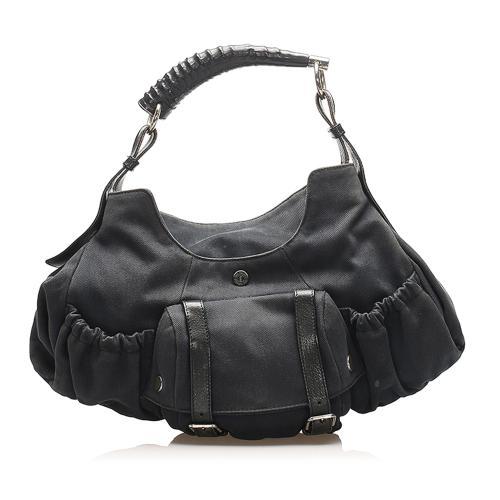 Saint Laurent Mombasa Canvas Handbag