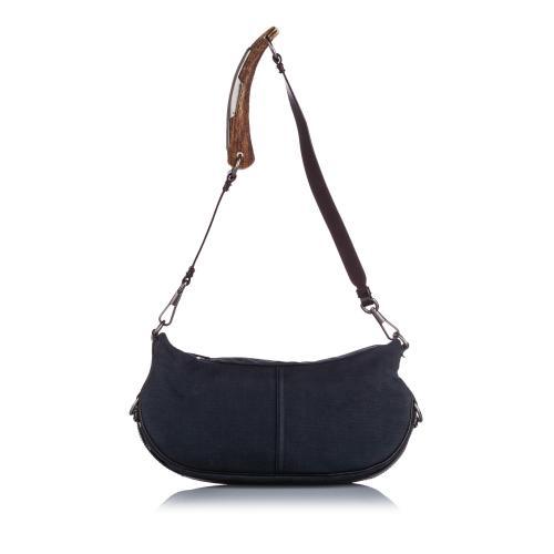Saint Laurent Denim Mombasa Shoulder Bag