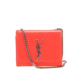 Saint Laurent Leather Monogram Kate Crossbody Bag
