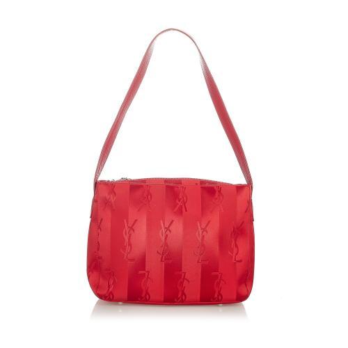 Saint Laurent Monogram Nylon Shoulder Bag
