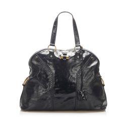 Saint Laurent Muse Patent Leather Shoulder Bag