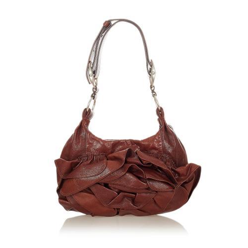 Saint Laurent Nadia Leather Shoulder Bag