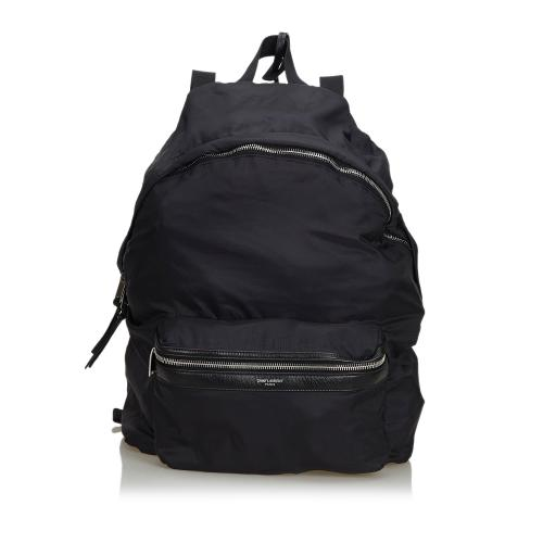 Saint Laurent Nylon Foldable Backpack
