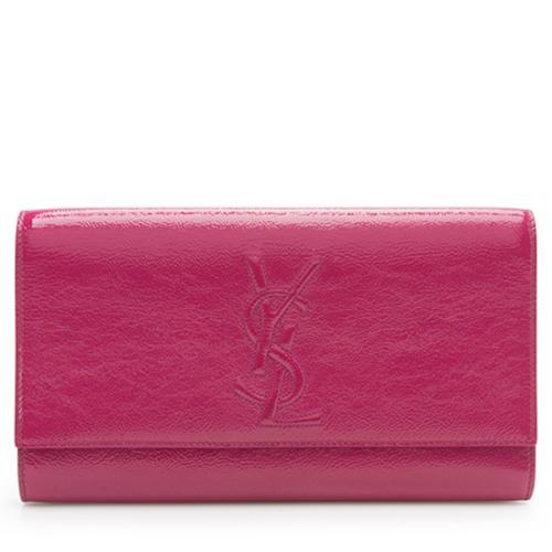 Saint Laurent Patent Leather Belle de Jour Clutch - FINAL SALE