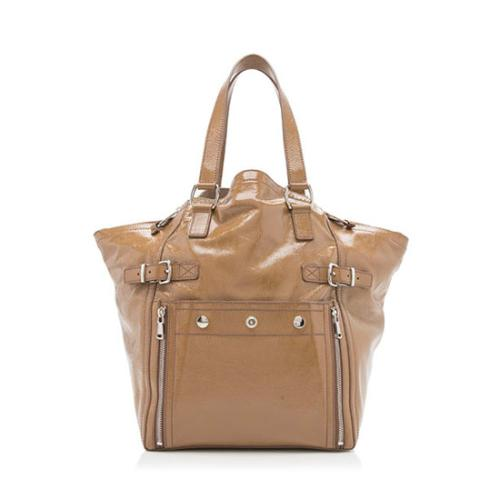 Saint Laurent Patent Leather Downtown Large Tote