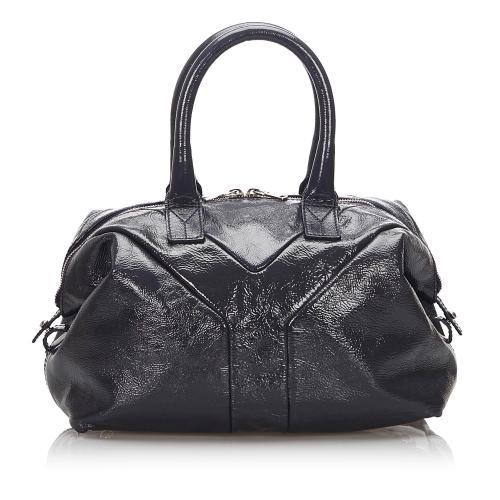 Saint Laurent Patent Leather Easy Satchel