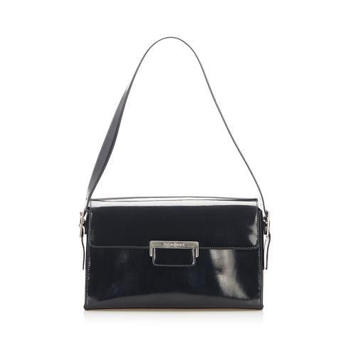 Saint Laurent Patent Leather Shoulder Bag
