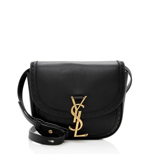 Saint Laurent Perforated Leather Small Kaia Shoulder Bag