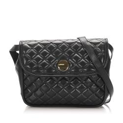 Saint Laurent Quilted Leather Crossbody Bag