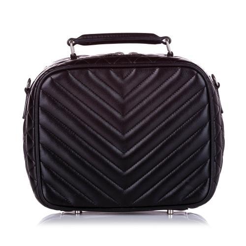 Saint Laurent Quilted Leather Satchel