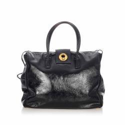Saint Laurent Sac Muse Patent Leather Handbag