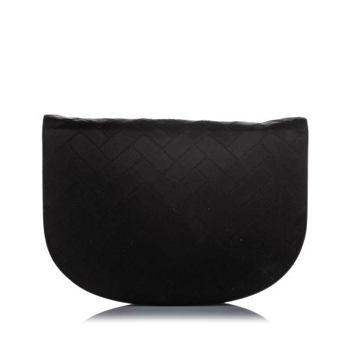 Saint Laurent Satin Clutch Bag
