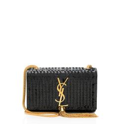 Saint Laurent Sequin Kate Small Crossbody Bag