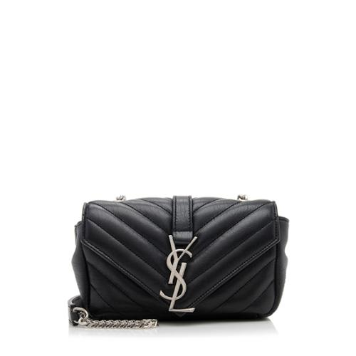 Saint Laurent Sheepskin Classic Monogram Baby Crossbody Bag