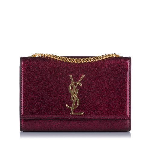 Saint Laurent Small Kate Patent Leather Crossbody Bag