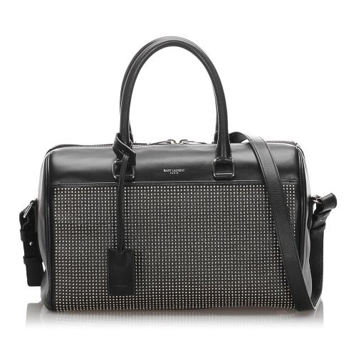 Saint Laurent Studded Baby Classic Duffel Bag