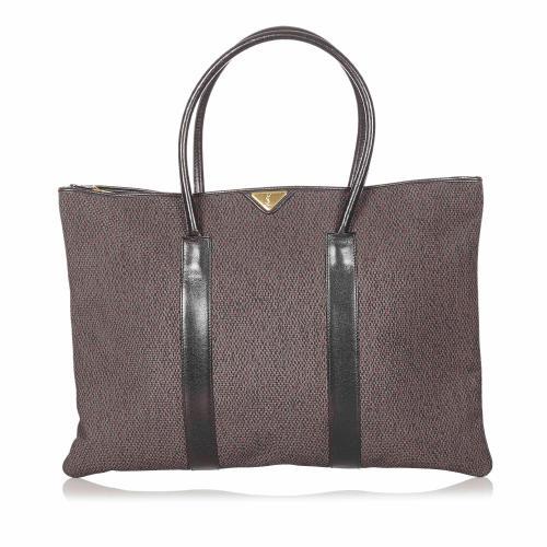 Saint Laurent Weaved Tote Bag
