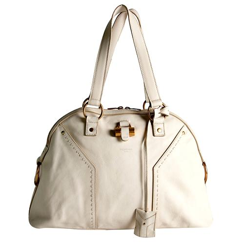 Yves Saint Laurent Leather Muse Large Tote