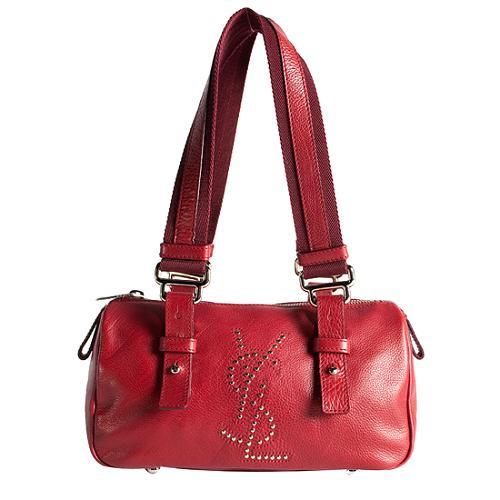 Yves Saint Laurent Leather Satchel Handbag