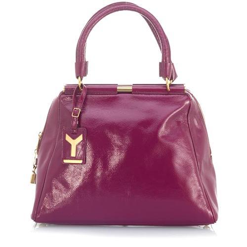 Yves Saint Laurent Medium Patent Leather Handbag
