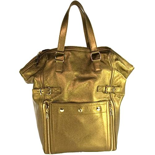 Yves Saint Laurent Metallic Downtown Tote