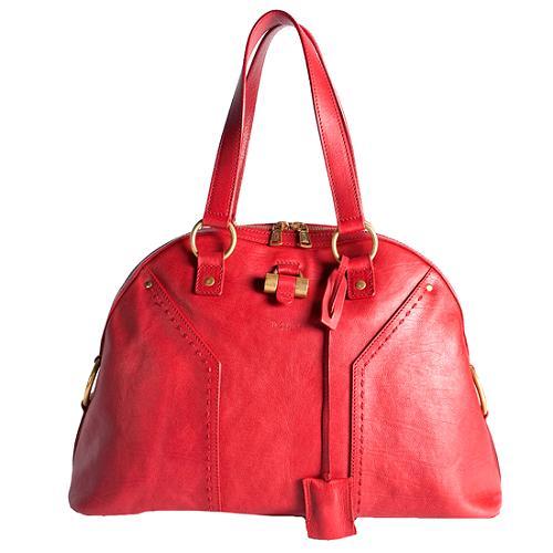 Yves Saint Laurent Muse Large Satchel Handbag