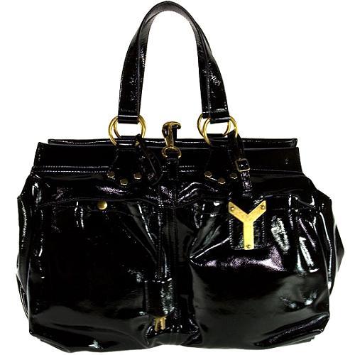 Yves Saint Laurent Patent Handbag