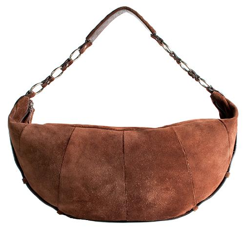 Yves Saint Laurent Suede Hobo Handbag