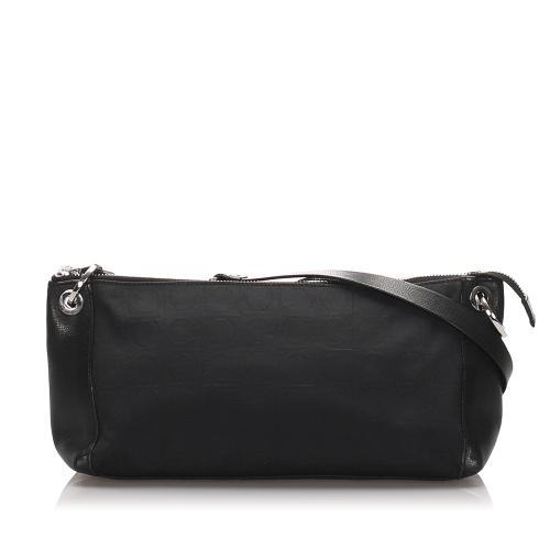 Salvatore Ferragamo Canvas Shoulder Bag