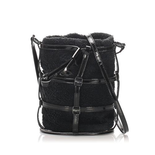 Salvatore Ferragamo Fabric Crossbody Bag