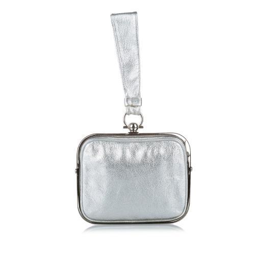 Salvatore Ferragamo Gancini Clara Leather Handbag