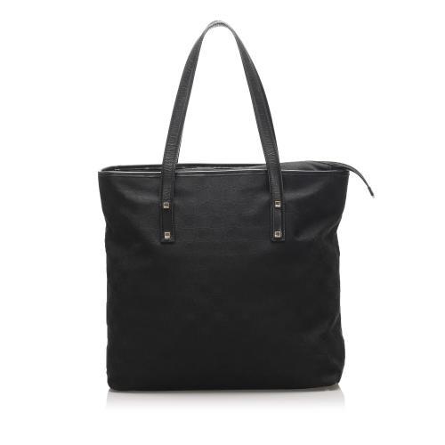Salvatore Ferragamo Gancini Leather Tote Bag
