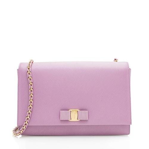Salvatore Ferragamo Ginny Large Shoulder Bag