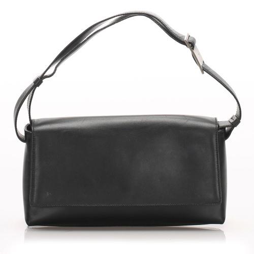 Salvatore Ferragamo Leather Baguette