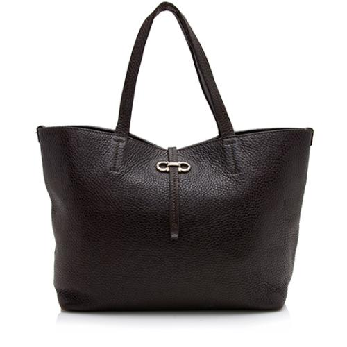 Salvatore Ferragamo Leather Bice Small Tote - FINAL SALE