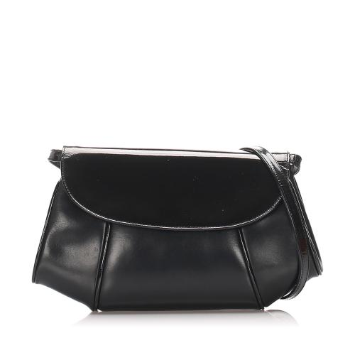 Salvatore Ferragamo Leather Crossbody Bag
