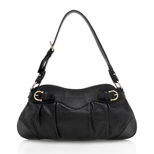 Salvatore Ferragamo Leather Marisa Shoulder Bag