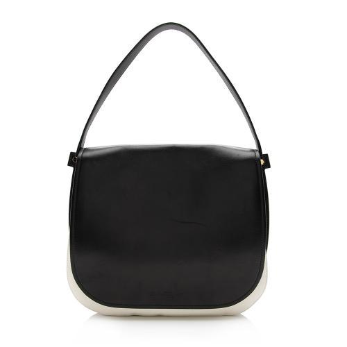 Salvatore Ferragamo Leather Neva Shoulder Bag