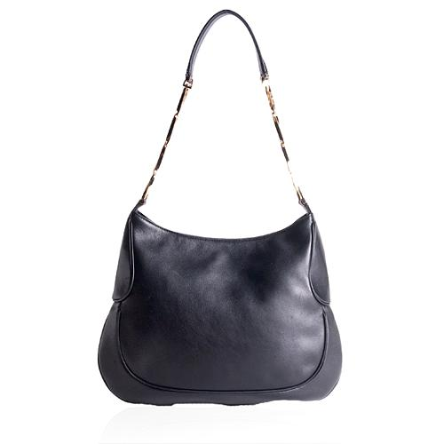Salvatore Ferragamo Leather Shoulder Handbag