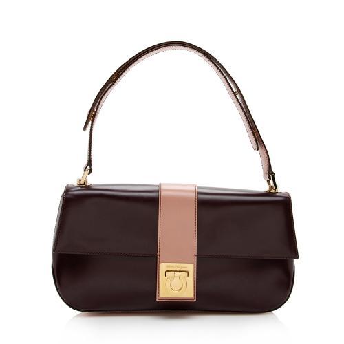 Salvatore Ferragamo Leather Small Shoulder Bag