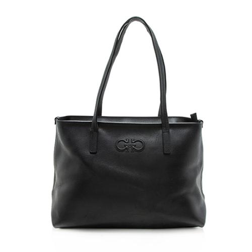Salvatore Ferragamo Leather Tote - FINAL SALE - FINAL SALE
